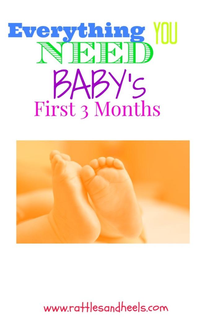 Baby first three months