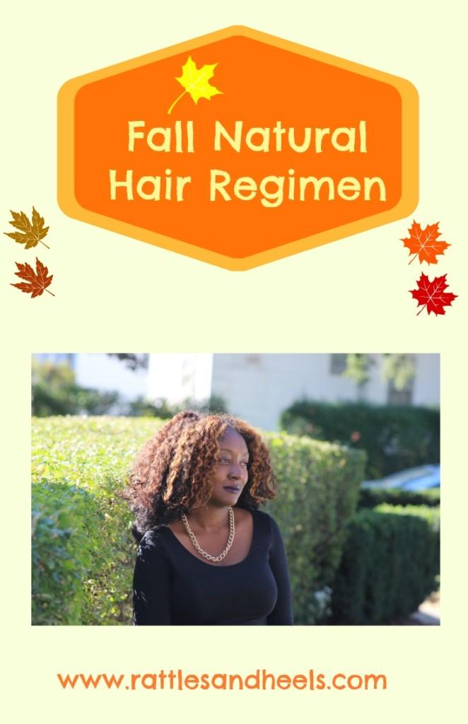 Natural Hair Fall Regimen