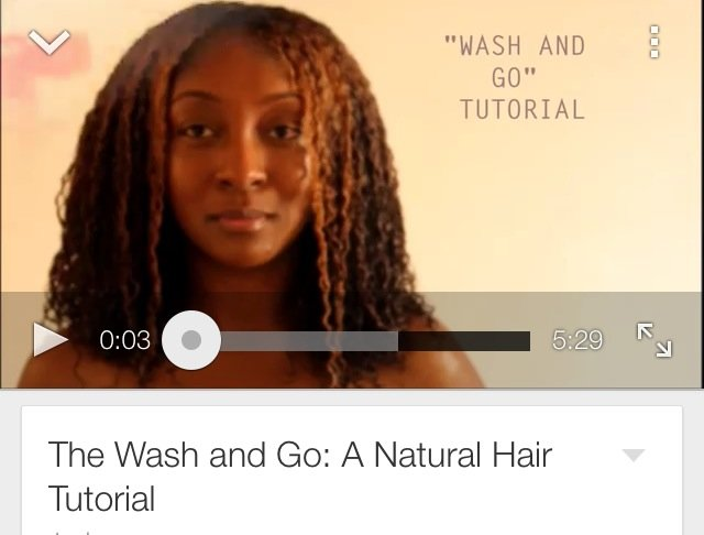 The Wash and Go: A Natural Hair Tutorial