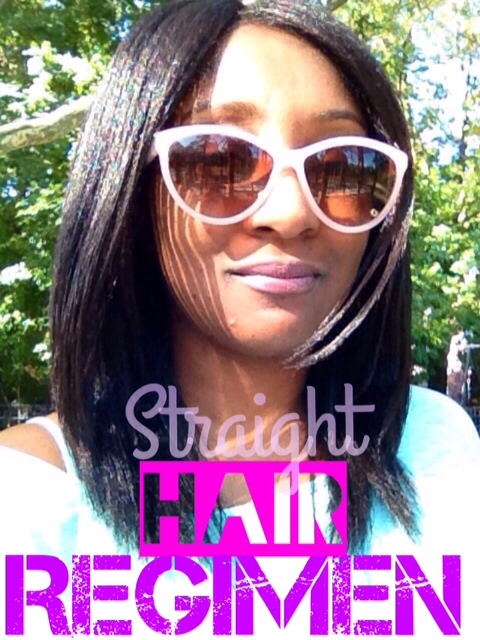 Straighten Natural hair