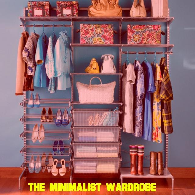 The minimalist closet