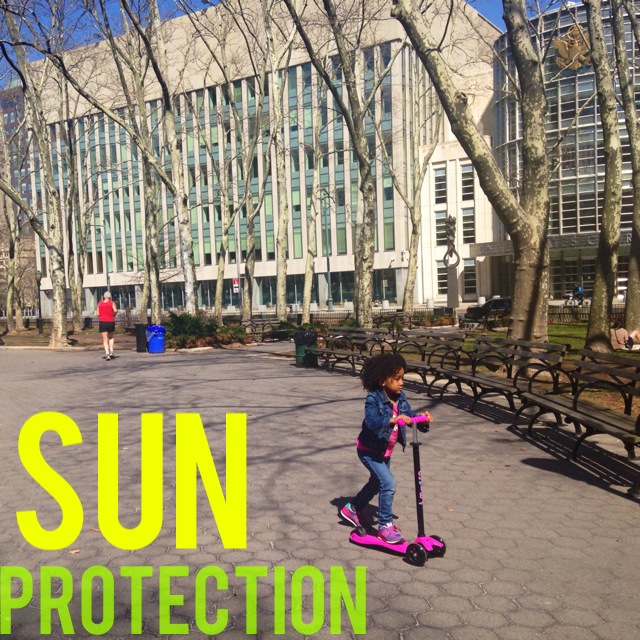 5 Ways To Protect Your Children's Skin From The Sun