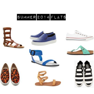 Where to Buy Summer Flats and How to Wear them