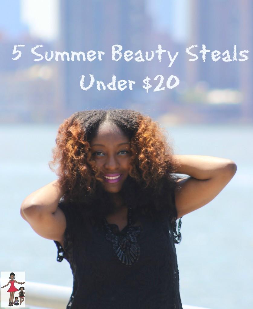5 Summer Beauty Steals Uner $20