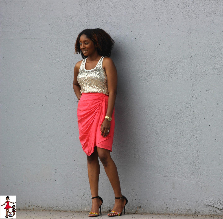 Fashion Friday: Golden Hues + DIY Shoes