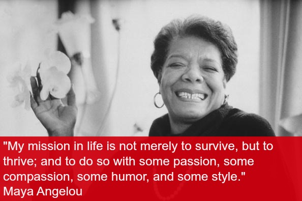 5 Lessons every mom can learn from Dr. Maya Angelou