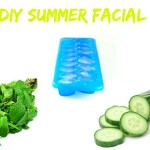 DIY Summer facial using Peppermint and cucumbers