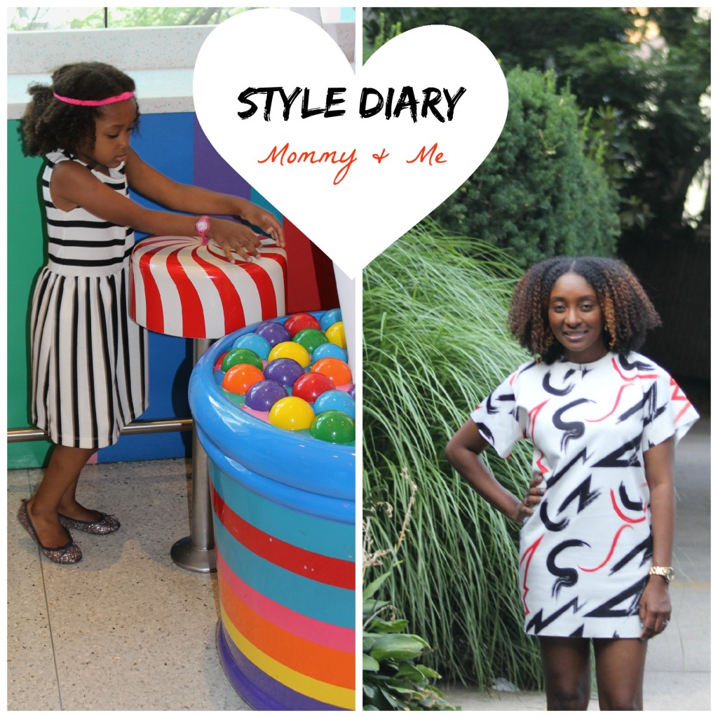 Mommy and Me style diary