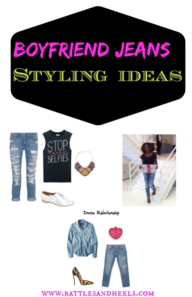 boyfriend jean styling ideas