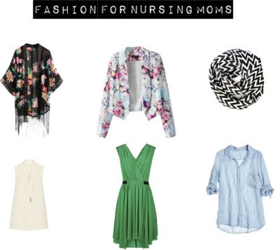 Stylish Nursing Tops And Clothing