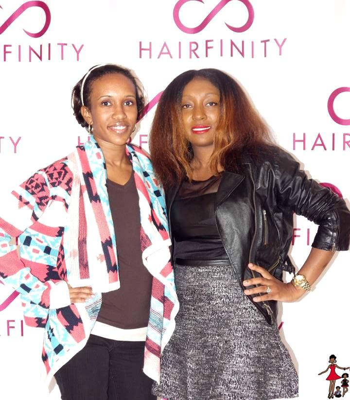 Let you hair down expo Hairfinity
