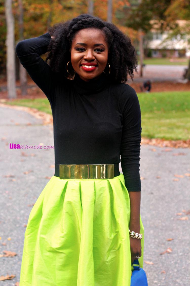 Bright-Neon-Green-Midi-Skater-Skirt19-Bright-Neon-Green-Midi-Skater-Skirt-sheinside