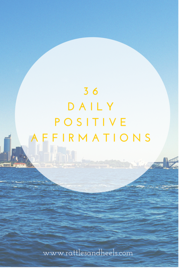 dailyPOSITIVEAFFIRMATIONS