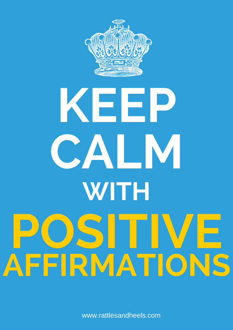 Positive daily affirmations for health