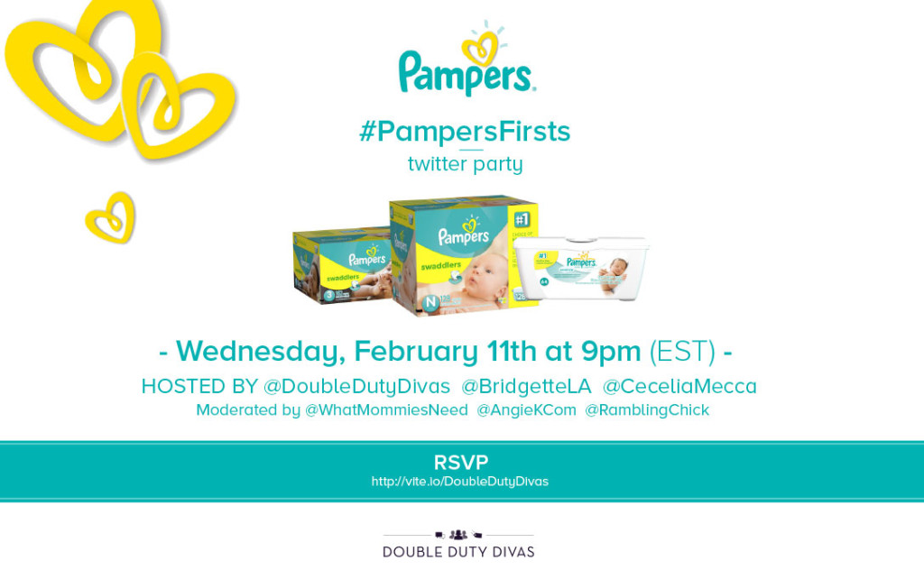 Pampers Twitter Party Image