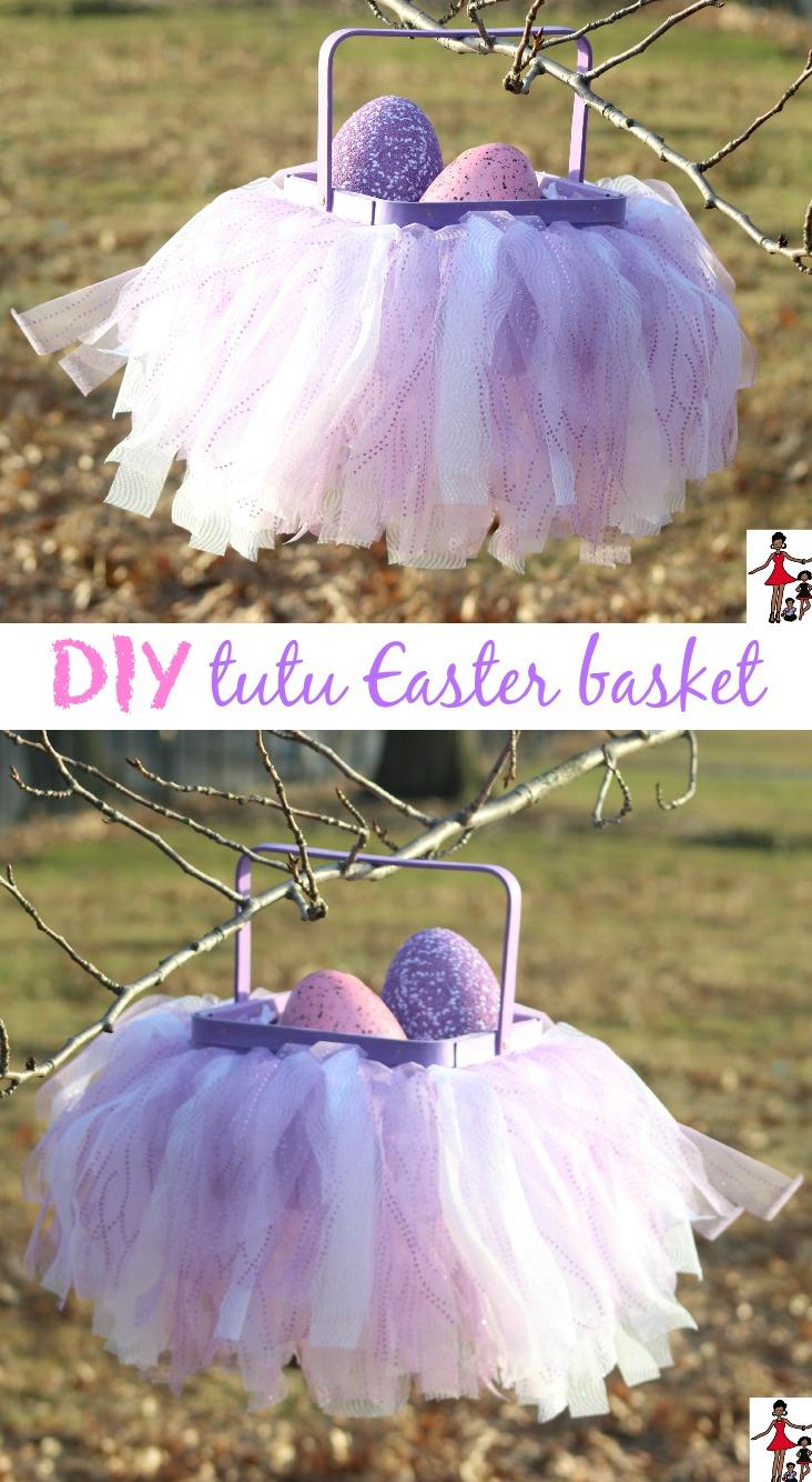 how to make a tutu basket