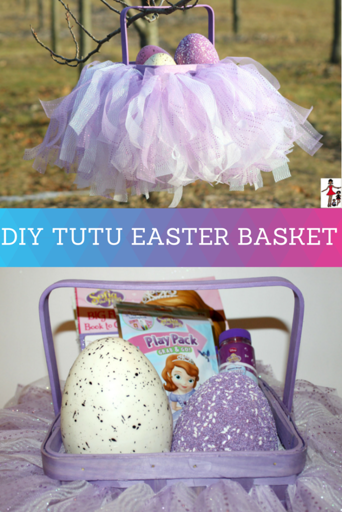 DIY TUTU EASTER BASKET-2