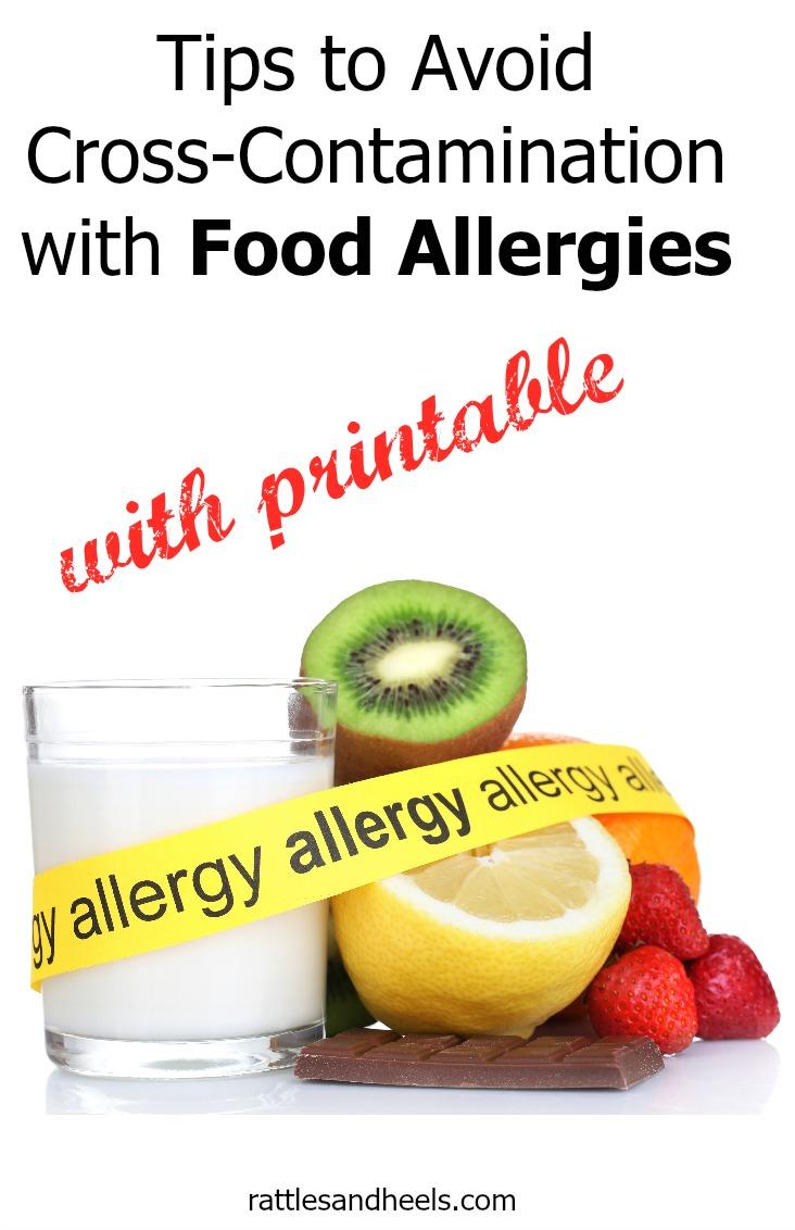cross contamination food allergies