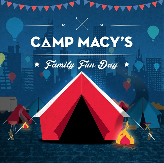 Family Fun Day At Camp Macy's