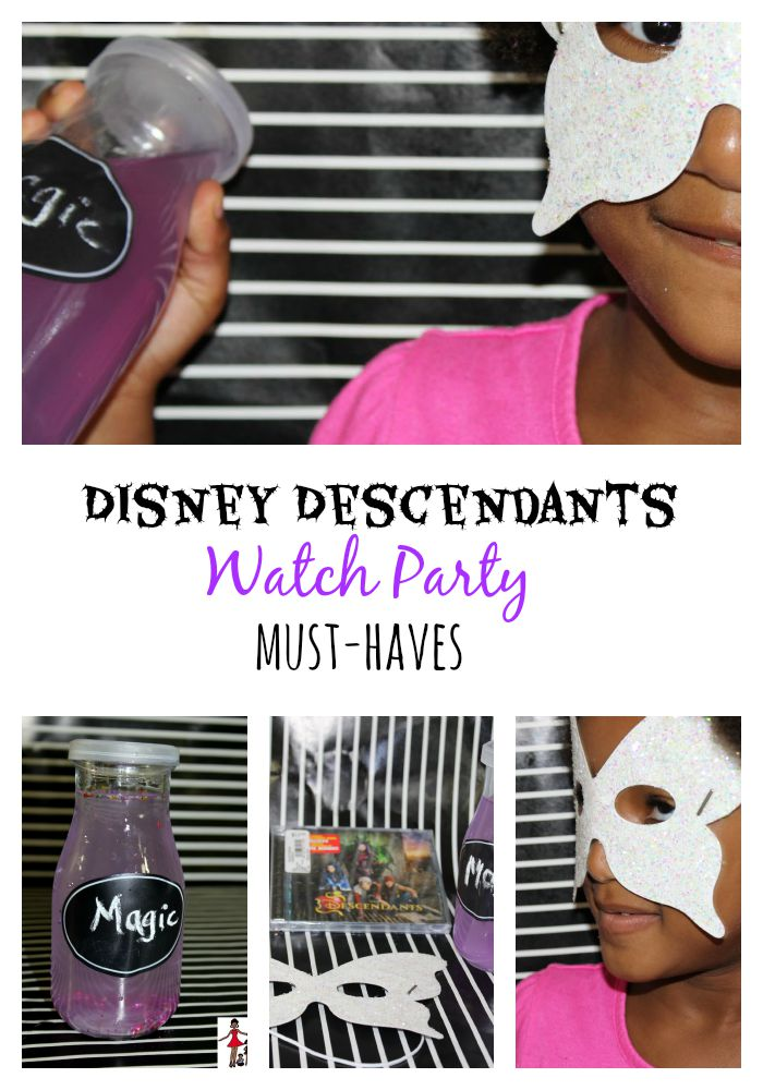 4 Must-Haves For Disney Descendants Slumber Party