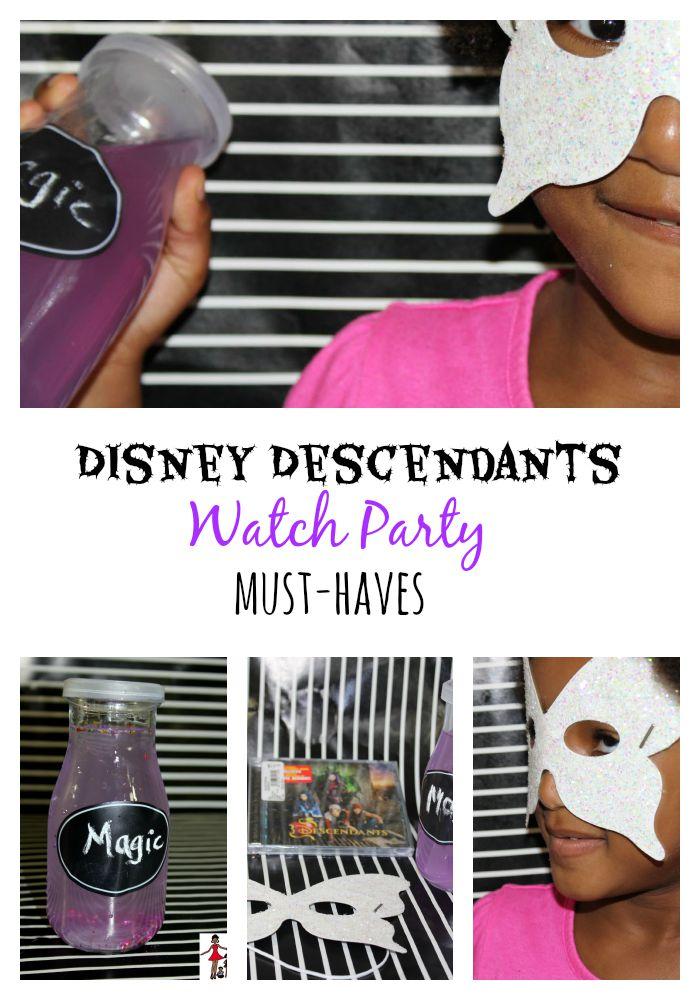 4 Must-Haves For Disney Descendants Slumber Party