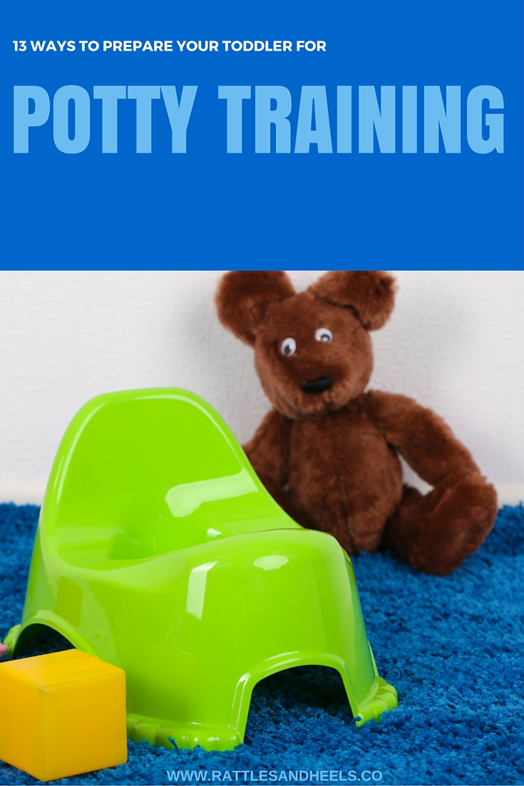 PREPARE TODDLER FOR POTTY TRAINING