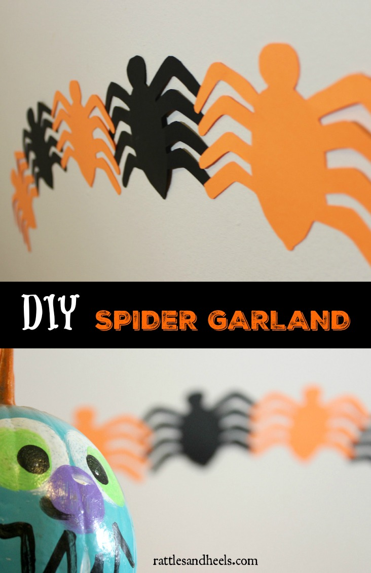 DIY-spider-garland