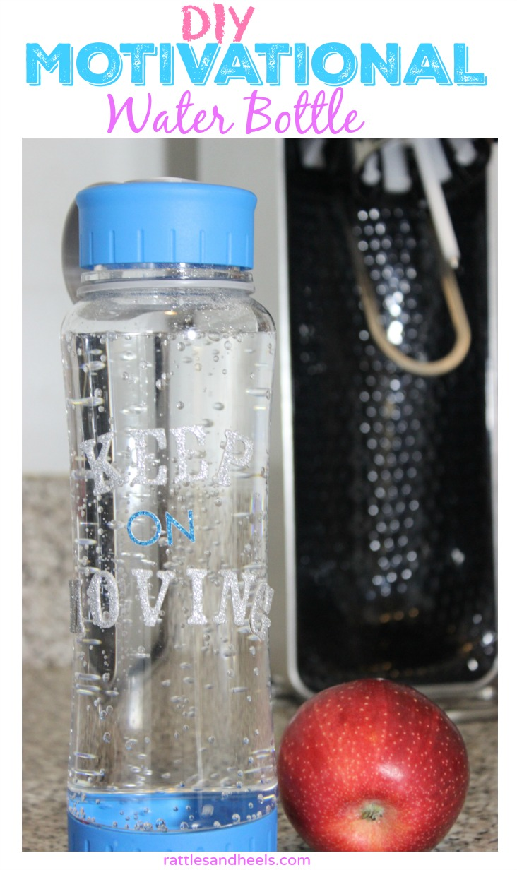 DIY Motivational Water Bottle