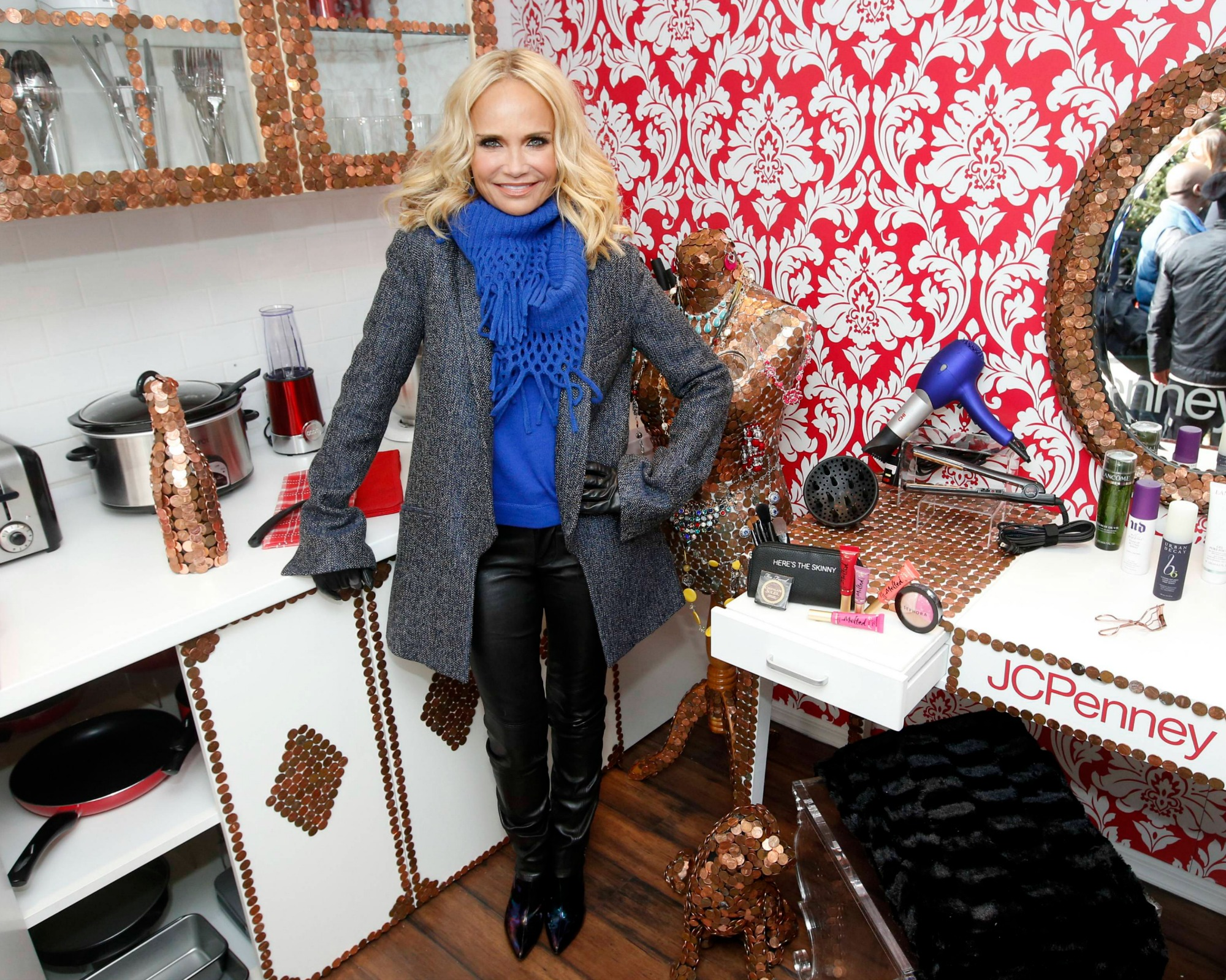 Actress and singer Kristin Chenoweth partners with JCPenney to launch their new Get Your Penney's Worth campaign, Wednesday, March 2, 2016 in New York. JCPenney is doing whatever it takes to make sure every shopping experience is worth shopper's time, money and effort. (Photo by Jason DeCrow/Invision for JCPenney/AP Images)