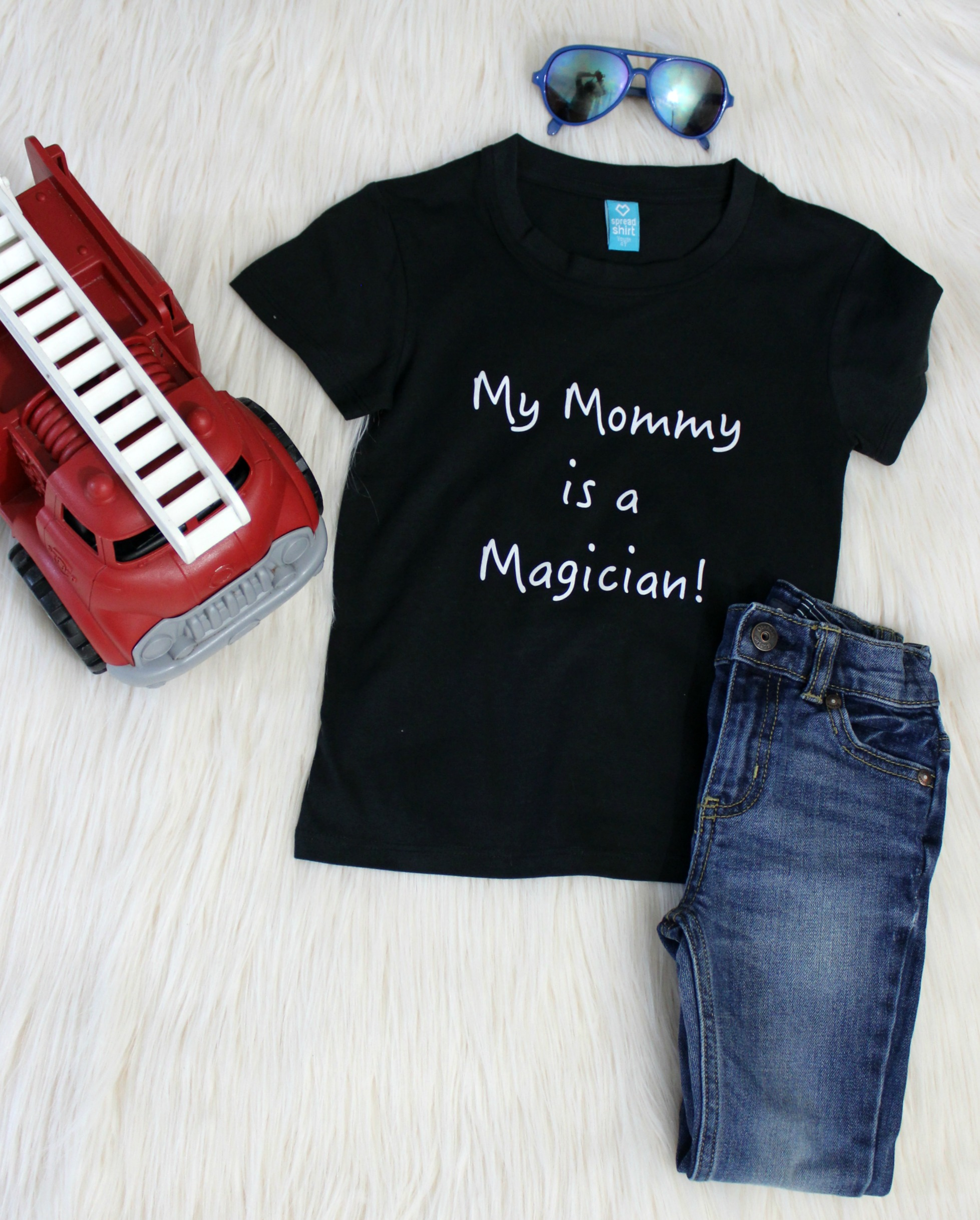 My mommy is a magician shirt