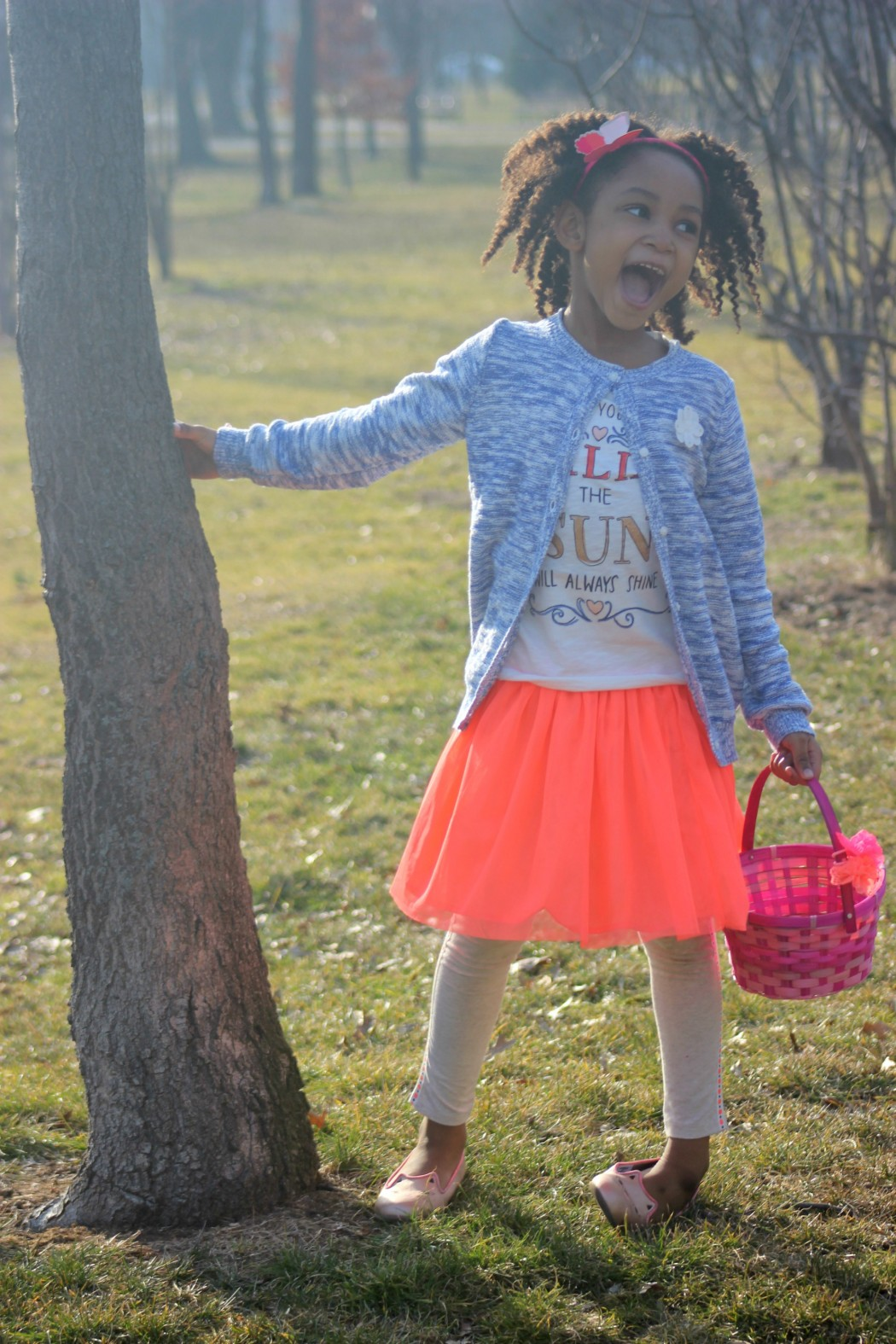 91b3d3f472f5 Girl s Easter Egg Hunt Outfit +  50 OshKosh Giveaway - Rattles   Heels