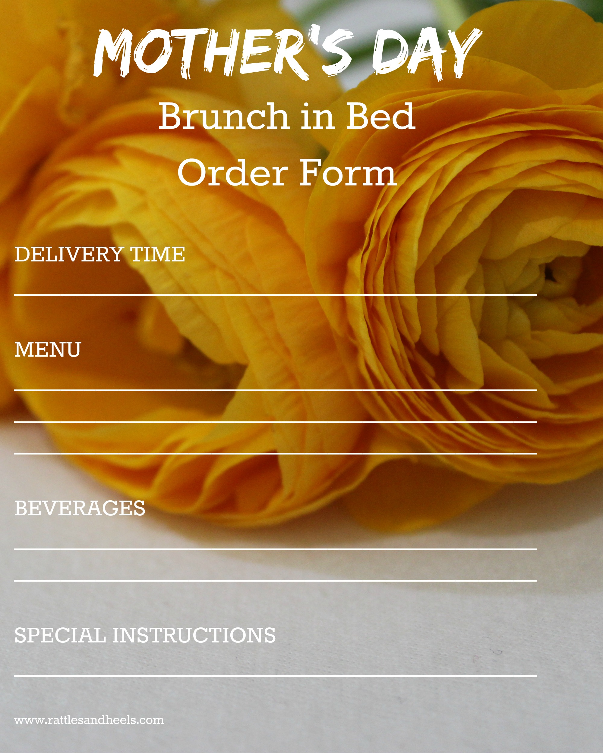 Mothers-Day-Room Service-Order-Form