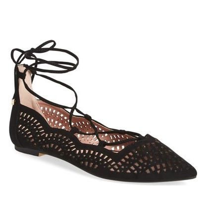 lace up flats under 50 dollars