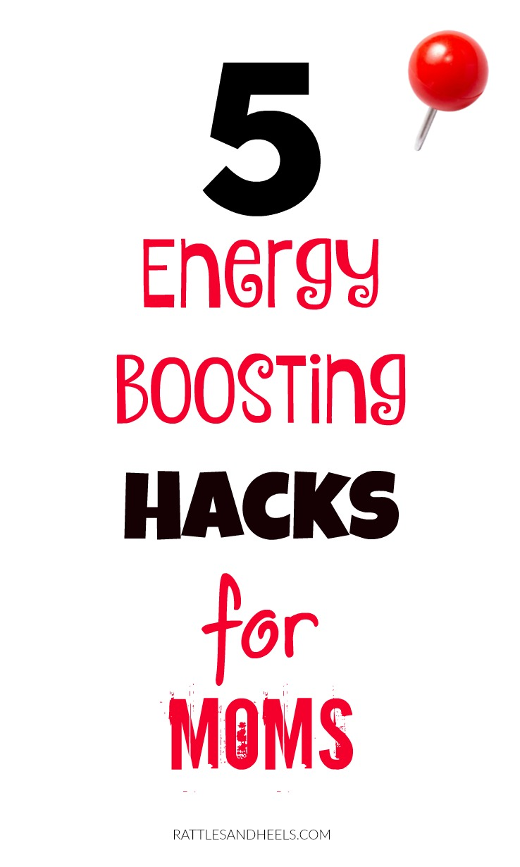 5 Energy Boosting Hacks For Moms | Summer Edition