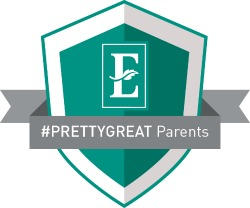 #PrettyGreat-Parents badge