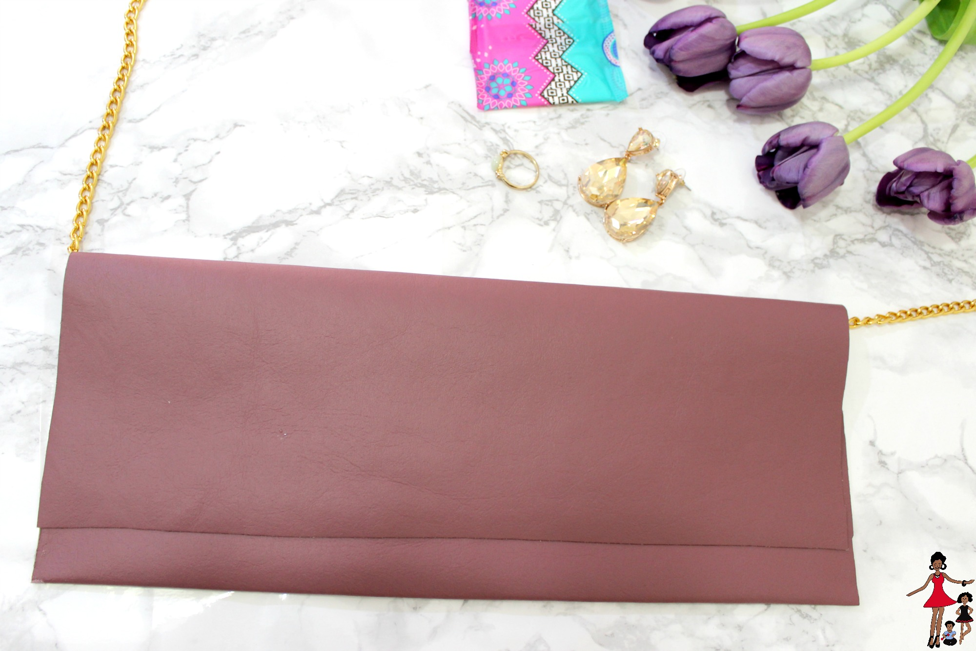 DIY Shoulder Chain Bag