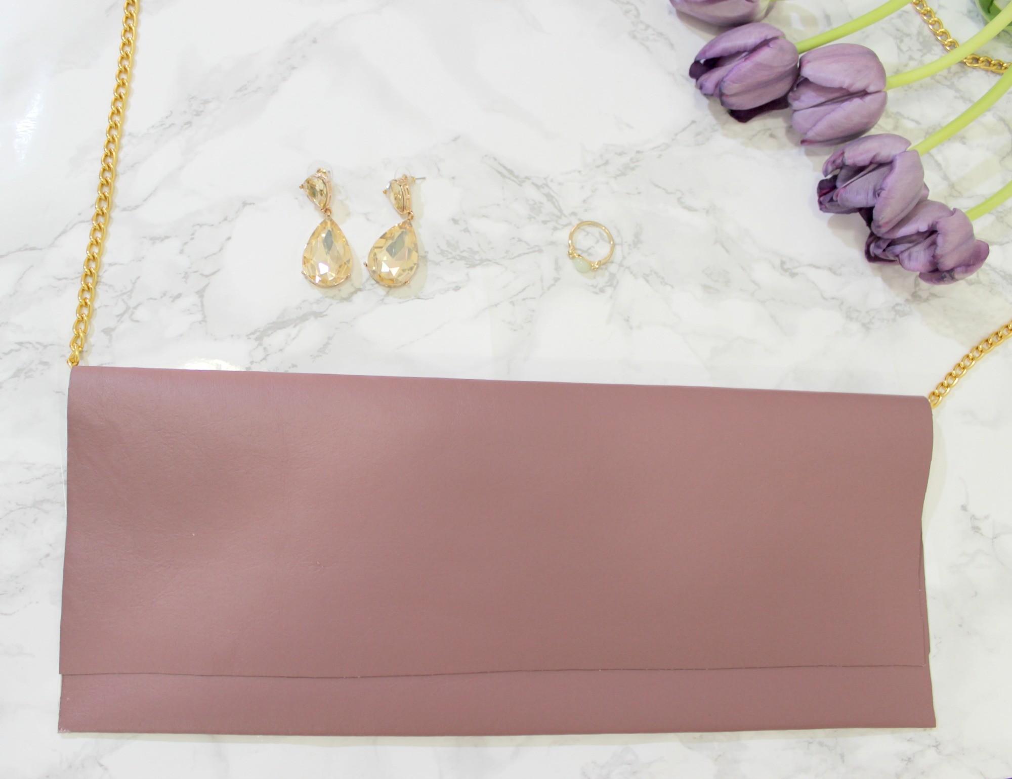 Easy DIY Chain Shoulder Bag Tutorial