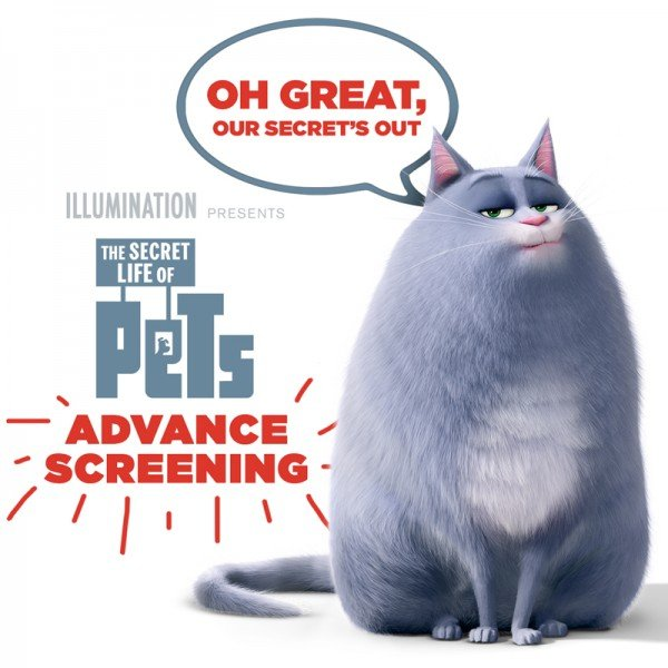 The Secret Life of Pets NYC Screening Giveaway