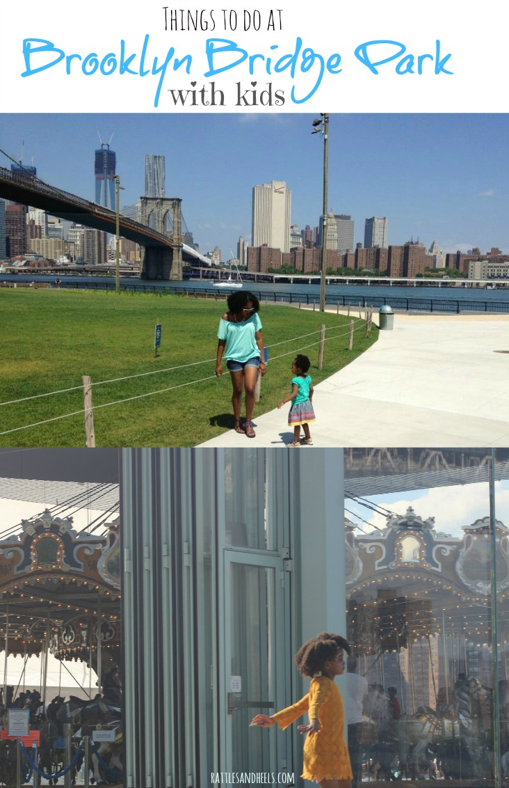 Things to do at Brooklyn Bridge Park with kids