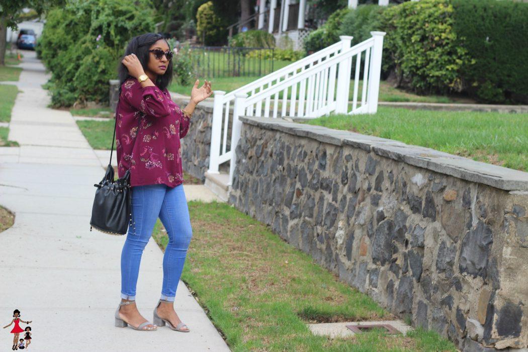 d2844c7eaeef3 Mom Style: Bohemian Inspired Fall OOTD - Rattles & Heels