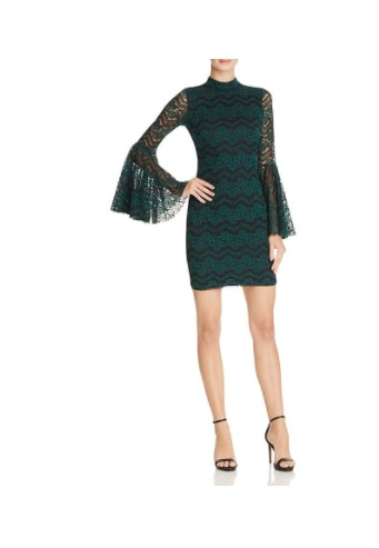 bell-sleeve-holiday-dress