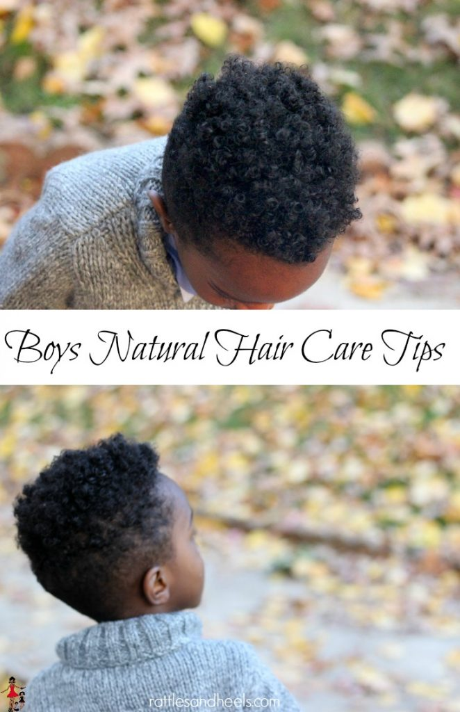 Boys natural hair