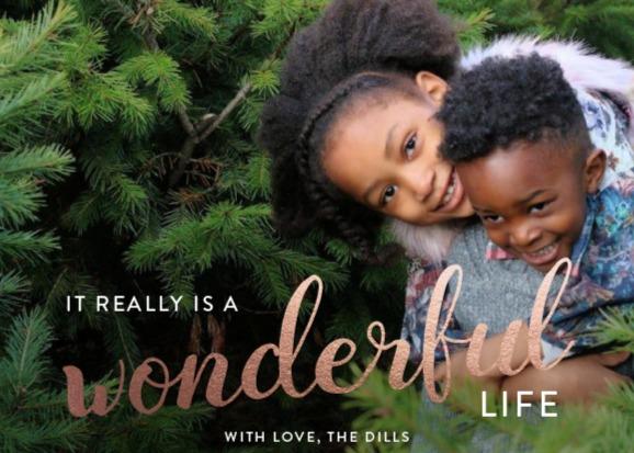 Holiday Family Card