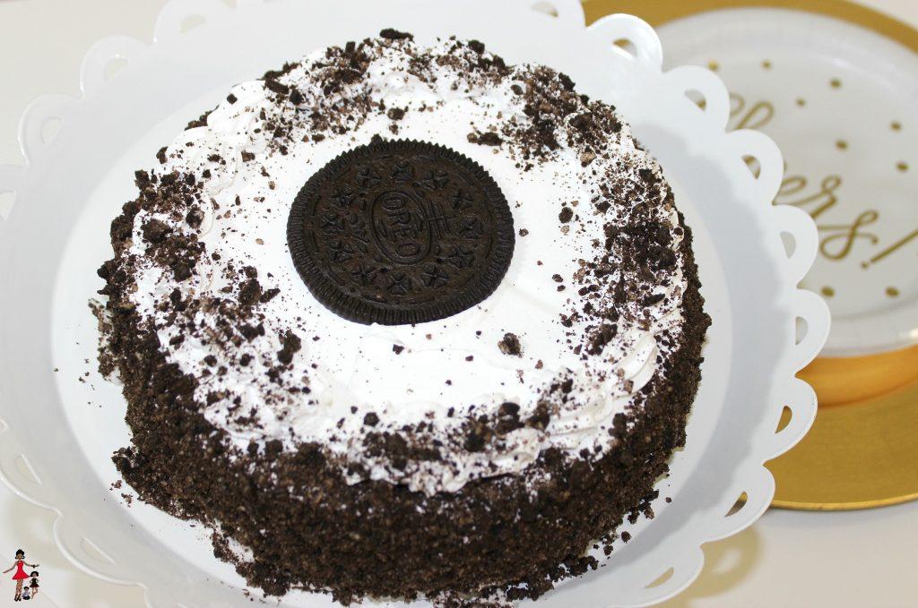 Ice cream cake for celebrating