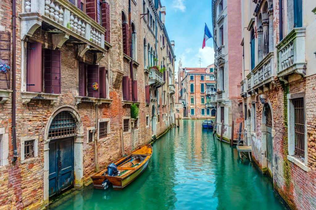 Affordable family travel Venice Italy