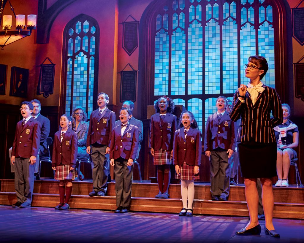 school of rock broadway