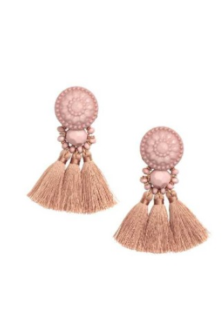 Blush H&M Tassel Earrings