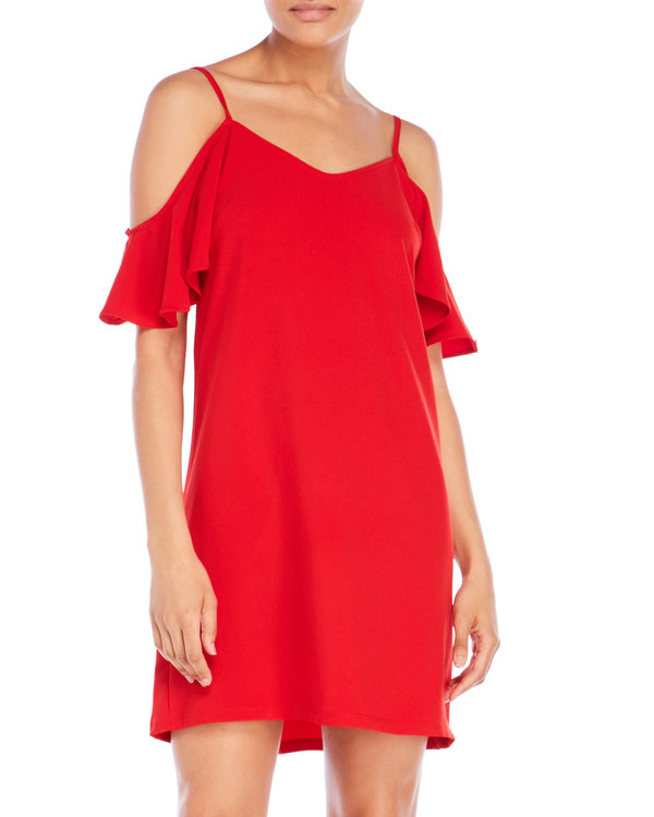 Century 21 Cold Shoulder Dress