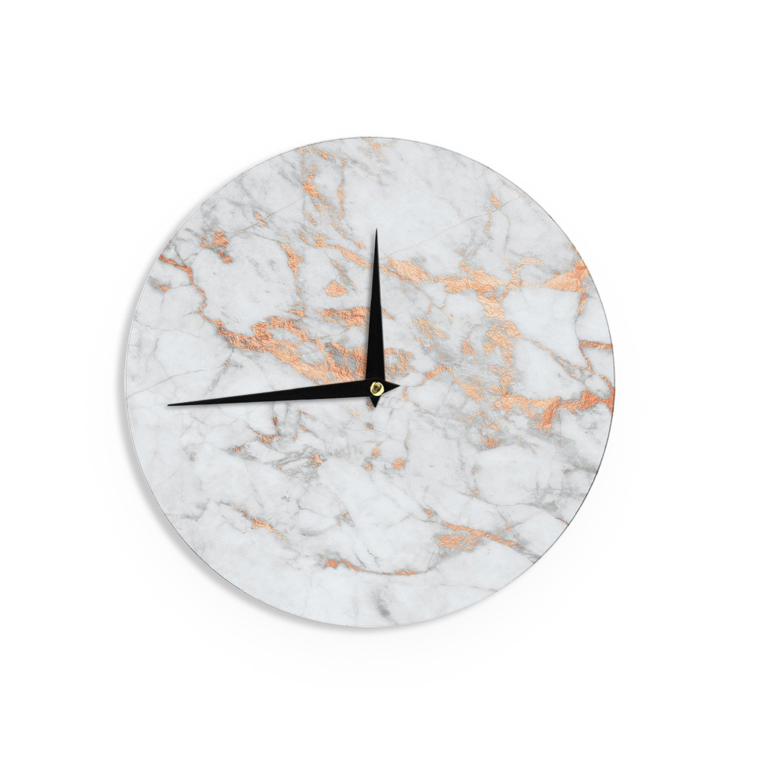 Marble and Rose Gold Clock