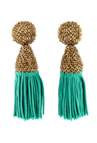 Prettiest Beaded Tassel Earrings